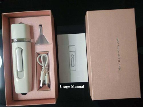 Picture of Nano Mist Spray Portable Facial Steamer Ultrasonic