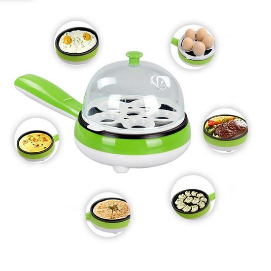 Picture of Multifunctional Electric Egg Boiler and Fry Pan