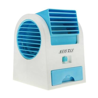 Picture of Portable Mini USB Double Outlet Air Conditioner Fan