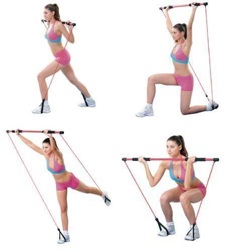 Picture of Portable pilates studio With workout DVD