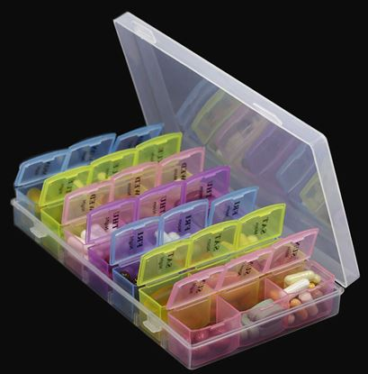 Picture of Medi box Tablet Organizer
