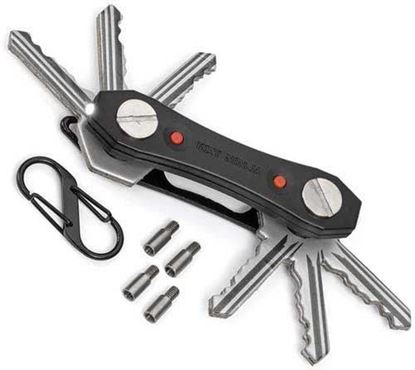 Picture of Ninja Multi-Tool Key Ring Holder with Torch
