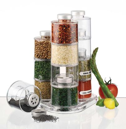 Picture of Spice Tower Jars 12 Shift