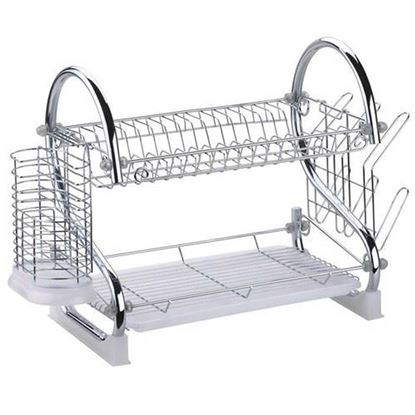 Picture of 2 Layer Dish Drainer - Steel