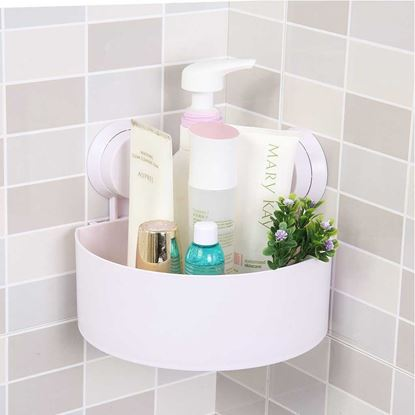 Picture of Triangle Bathroom Corner Shelf