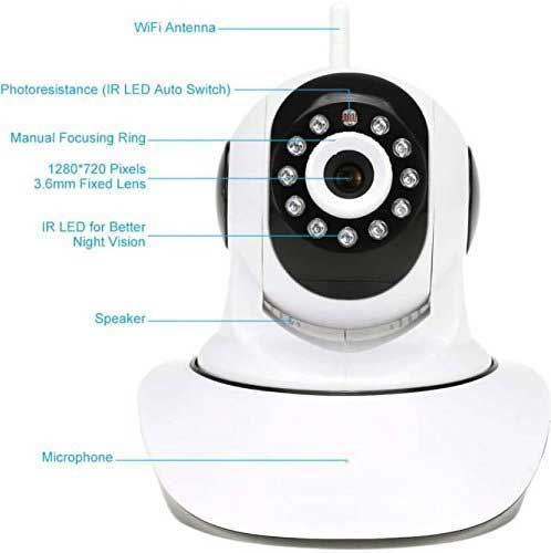 Picture of V380 WI-FI Smart Net Duel Antina Camera