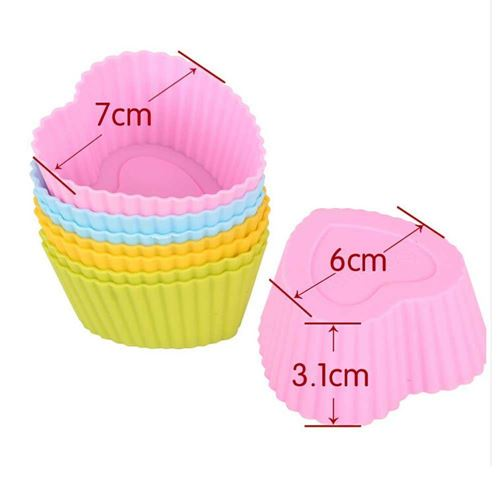 Picture of Silicone Cake Mould 6 PCS