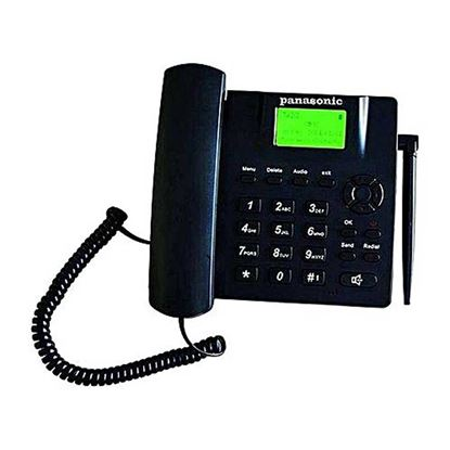 Picture of Panasonic Duel Sim Land Phone - Black