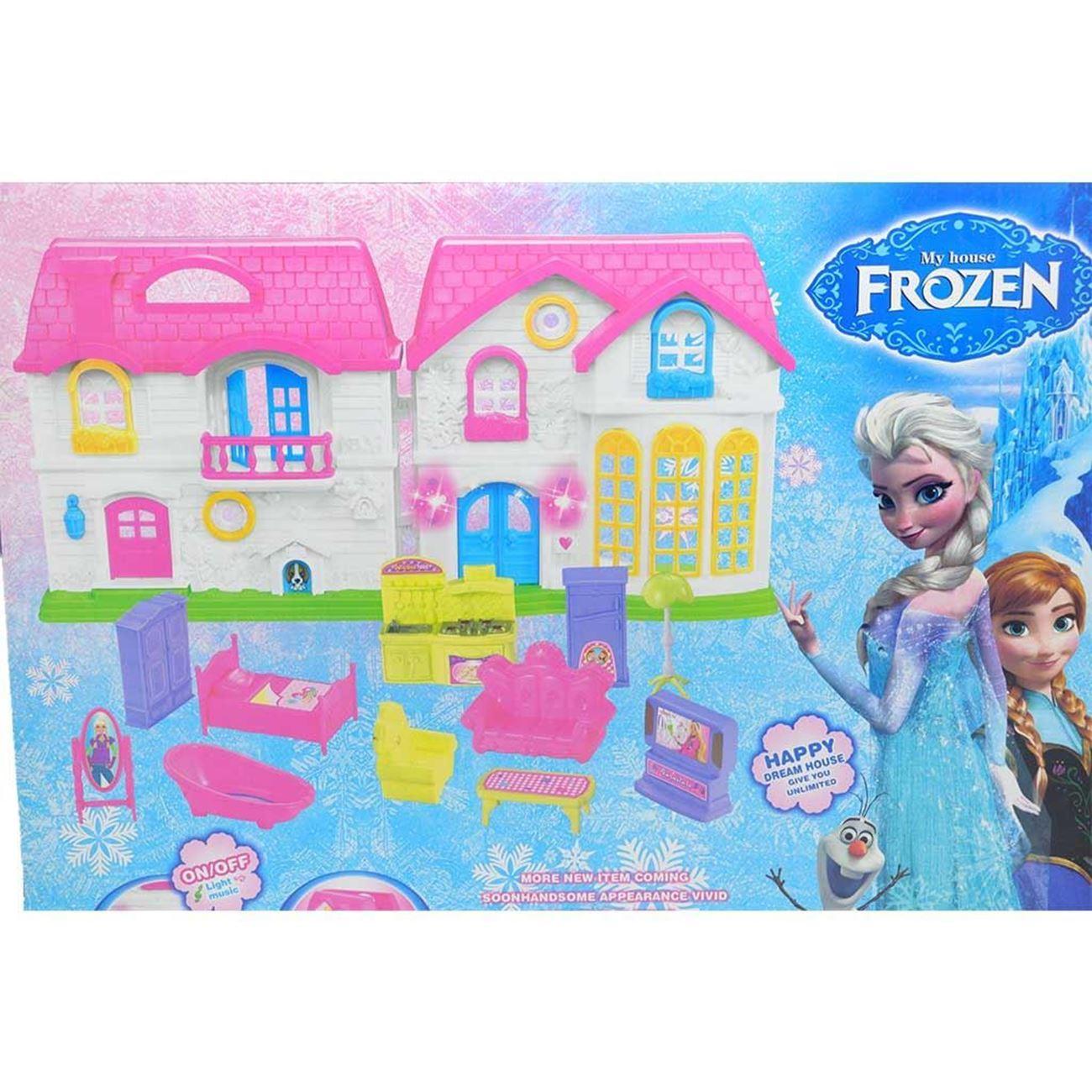 Frozen Dream House for Kids on