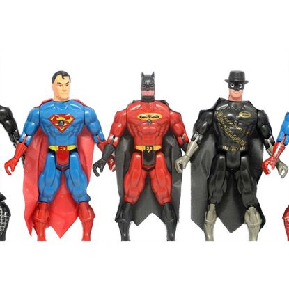 Picture of Superhero Action Figure Set Multicolor
