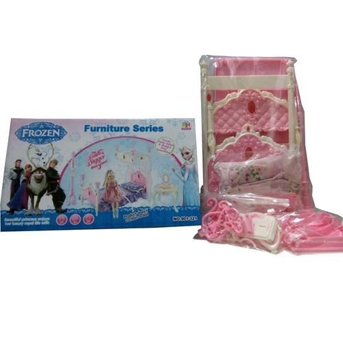 Picture of Frozen Furniture Series Princes Bed - Pink