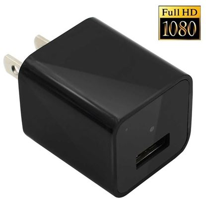 Picture of Wall Charger Hidden Camera - Black   Model:( L-1 )