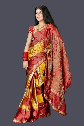 Picture of Tangail Soft Silk Saree