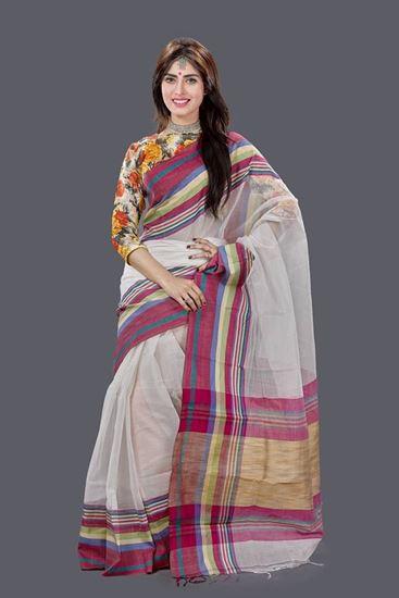 Picture of Tangail Half Silk Saree