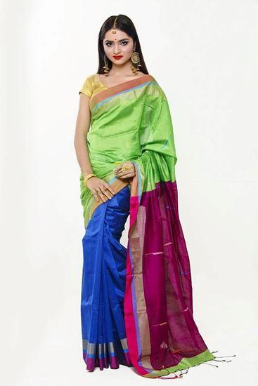 Picture of Tangail Half Silk Sharee