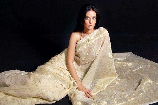 Picture of Tangail katan Silk Sharee