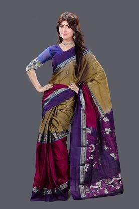 Picture of Tangail Mosline Cotton Saree