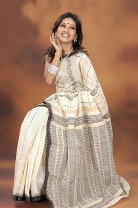 Picture of Tangail Cotton Jamdani Saree