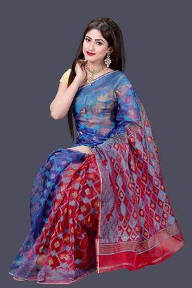 Picture of Tangail Muslin Jamdani Saree