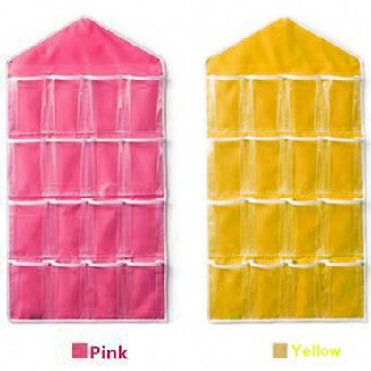 Picture of 16 Pocket Wall mounted storage bag