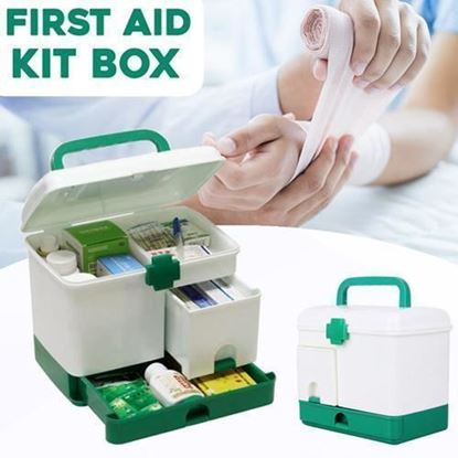 Picture of First Aid Medical Storage Box