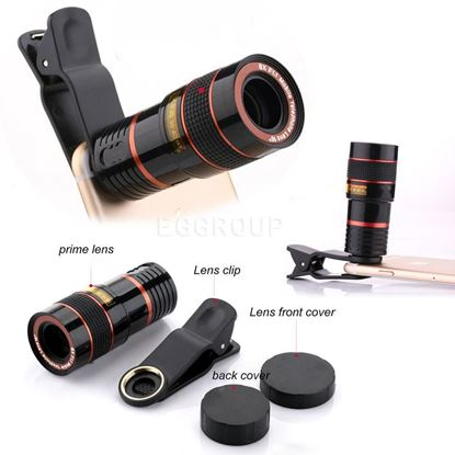 Picture of Universal 8x Mobile zoom lens