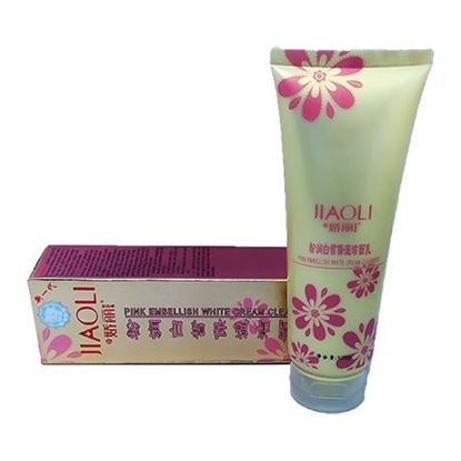 Picture of Jiaoli Pink Embellish White Cream Cleanser