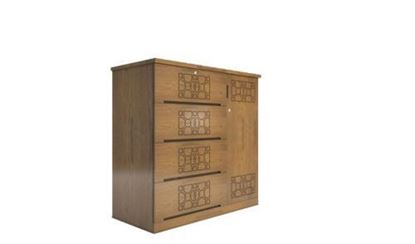 Picture of Wooden Wardrobe-HWDH-303