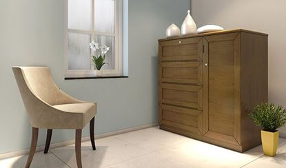 Picture of Wooden Wardrobe -HWDH-302