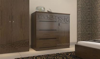 Picture of Wooden Wardrobe- HWDH-306