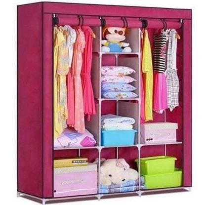 Picture of Cloth & storage wardrobe  3 Door
