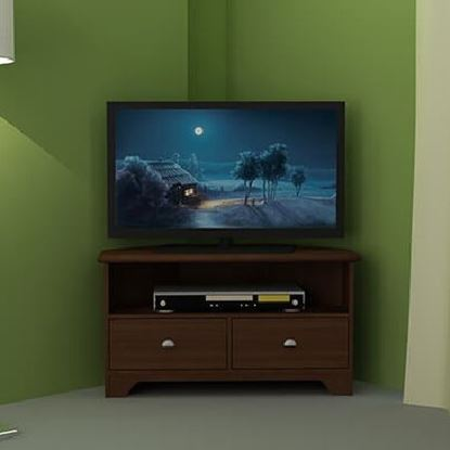Picture of Corner TV Cabinet-HTCH-110-1-10