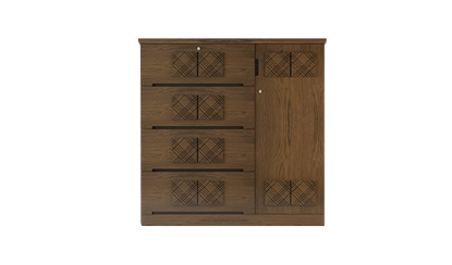 Picture of Wooden Wardrobe- HWDH-307