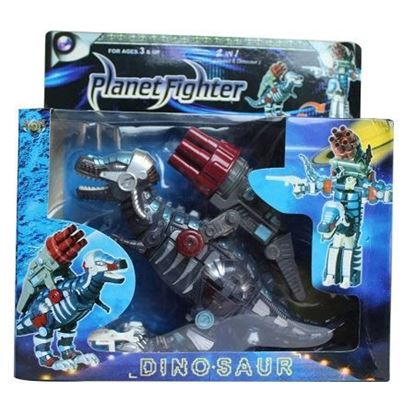 Picture of Planet Fighter 2 in 1 Robot & Dinosaur
