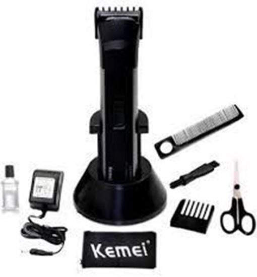 Picture of Kemei KM-2599 Rechargeable Beard Trimmer White For Men