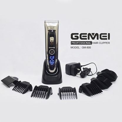 Picture of Gemei GM-800 Degital Display High Technology Hair Clipper For Men