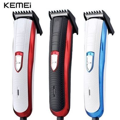 Picture of Kemei KM-203B Electric Beard Trimmer & Hair Trimmer For Men- Red