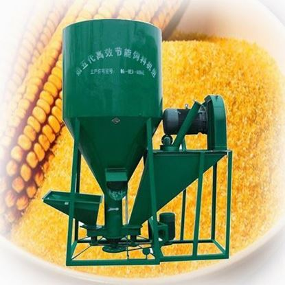 Picture of Chicken feed mixing machine /animal feed crusher and mixer- Electric