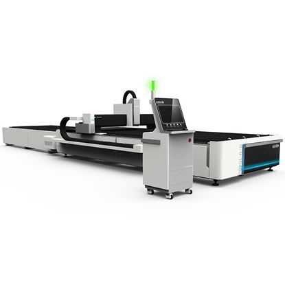 Picture of CNC fiber laser cutting machine