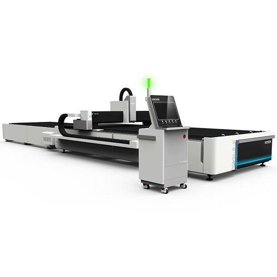 Picture of CNC fiber laser cutting machine