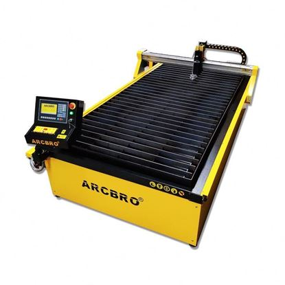 Picture of CNC plasma plazma cutting machine