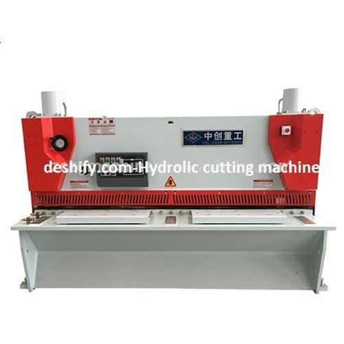 Picture of Hydraulic stainless steel Cutting Machine Shear machine
