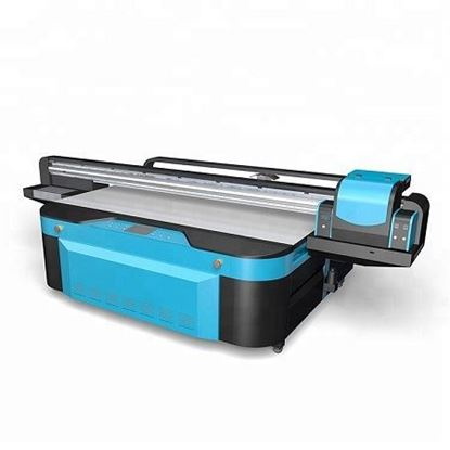 Picture of UV flatbed printer price digital glass printing machine