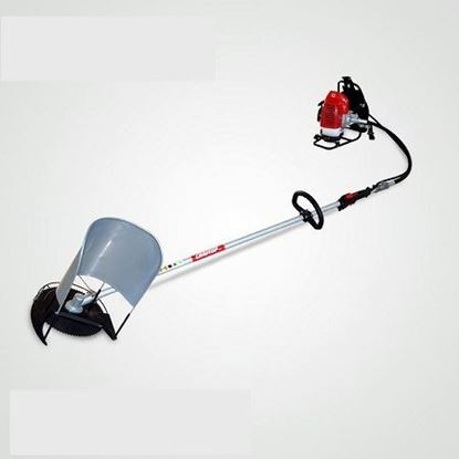 Picture of Mini rice paddy cutting harvest machine