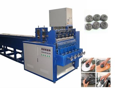 Picture of Kitchen Spiral Scourer Wire Making Machine