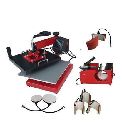 Picture of 8 In 1 Combo heat press sublimation machine Heat Press Machine
