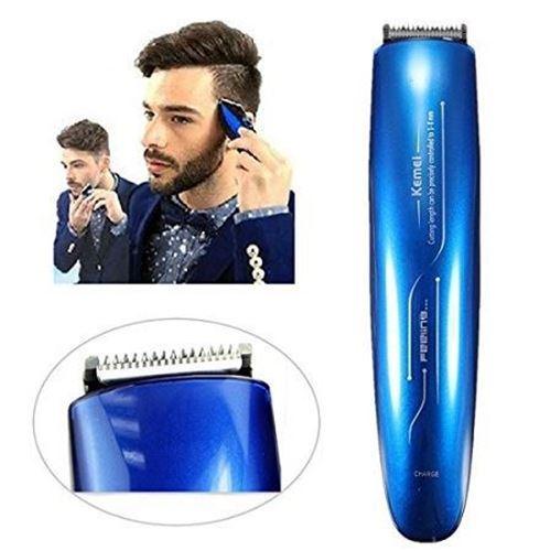 Picture of KEMEI KM-2013 RECHARGEABLE BEARD & HAIR CLIPPER BLUE FOR MEN