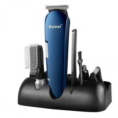 Picture of KM-550 Kemei 5 in 1 Rechargeable Multigrooming Set