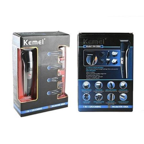 Picture of KM-590A Kemei 7 in 1 Multi-function Trimmer
