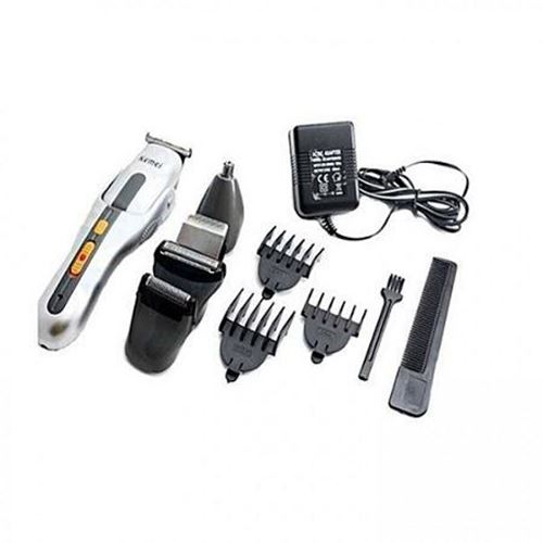 Picture of KM-680A Kemei 8 in 1 Grooming Kit Shaver Trimmer